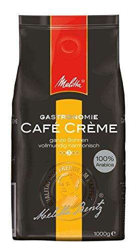 Melitta Café Creme, Ganze Kaffeebohnen, 100% Arabica, Vollmundig und harmonisch, Mittlerer Röstgrad, 1 kg