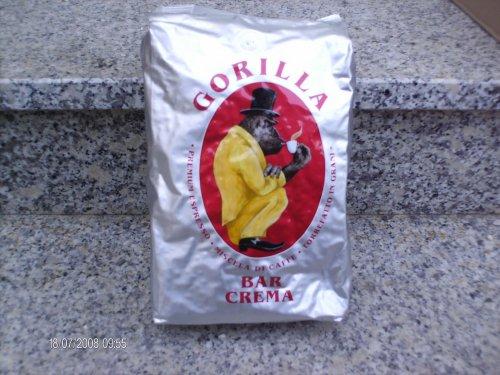 Joerges Espresso Gorilla Bar Crema , 1er Pack (1 x 1 kg)