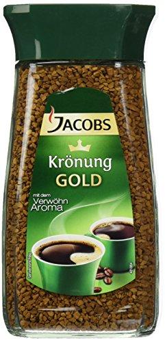 Jacobs Krönung Löskaffee Glas, 2er Pack (2 x 200 g)
