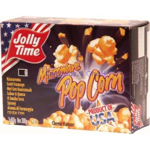 Jolly Time Mikrowellenpopcorn mit Käse Geschmack