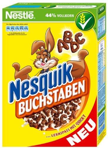 Nesquik – Buchstaben Frühstücksflocken – 325g