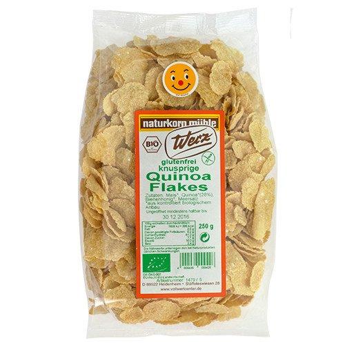 Quinoa-Cornflakes glutenfrei mit Reissirup gesüßt (250 g)